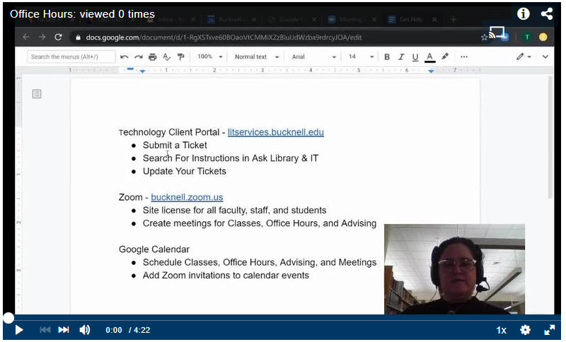Create Recurring Office Hours with Zoom