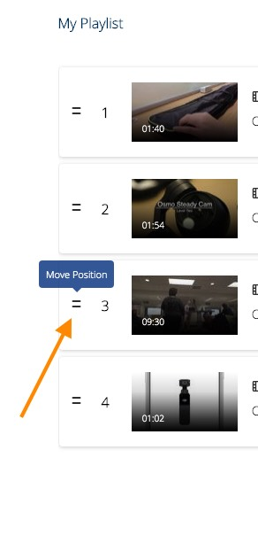 move position selector for playlists in mediaspace